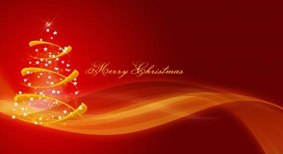 Simple Merry Christmas Wallpaper
