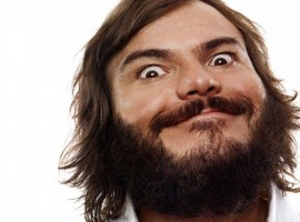 Jack Black Crazy Beard HD Wallpaper
