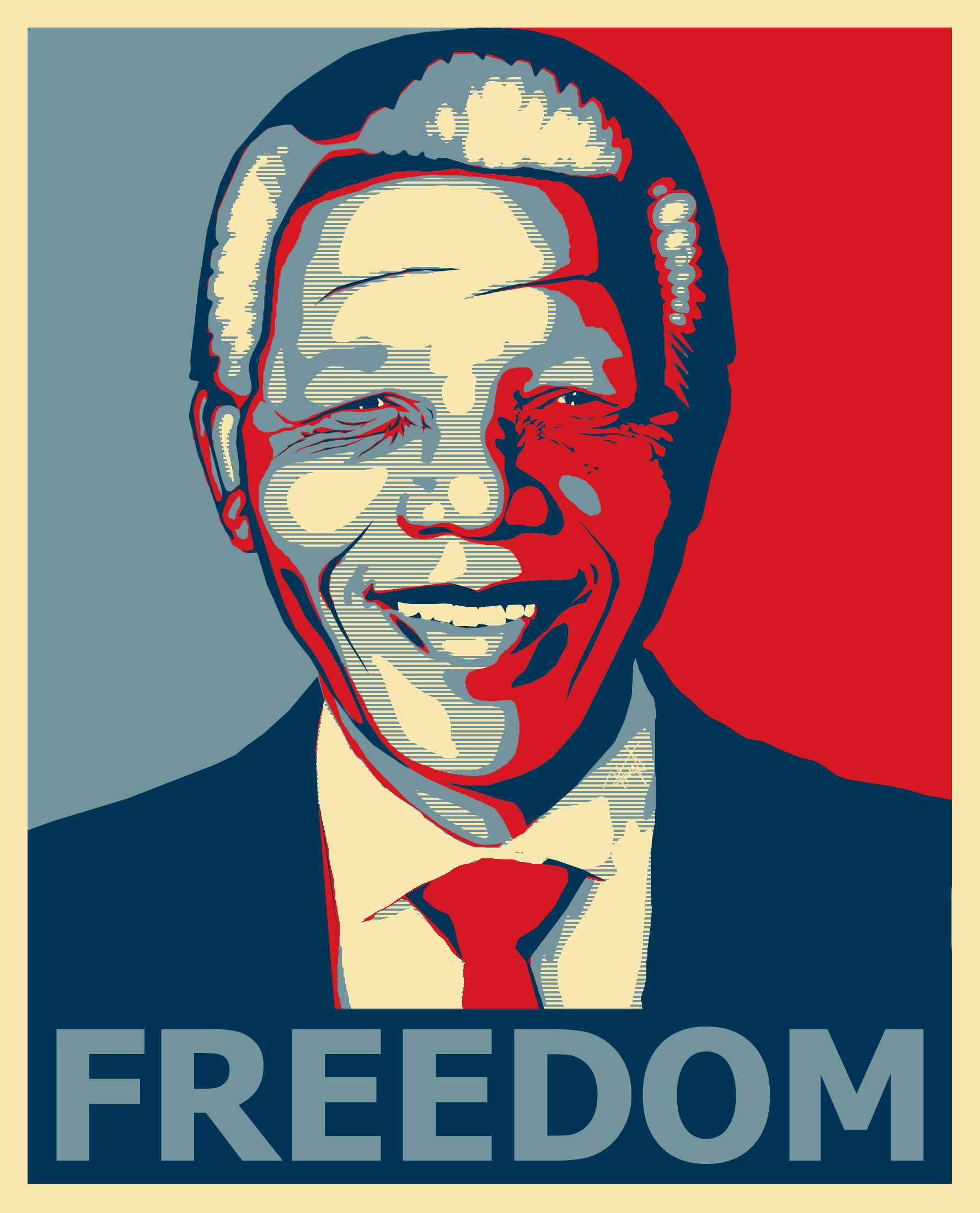 Nelson Mandela HD Poster Background