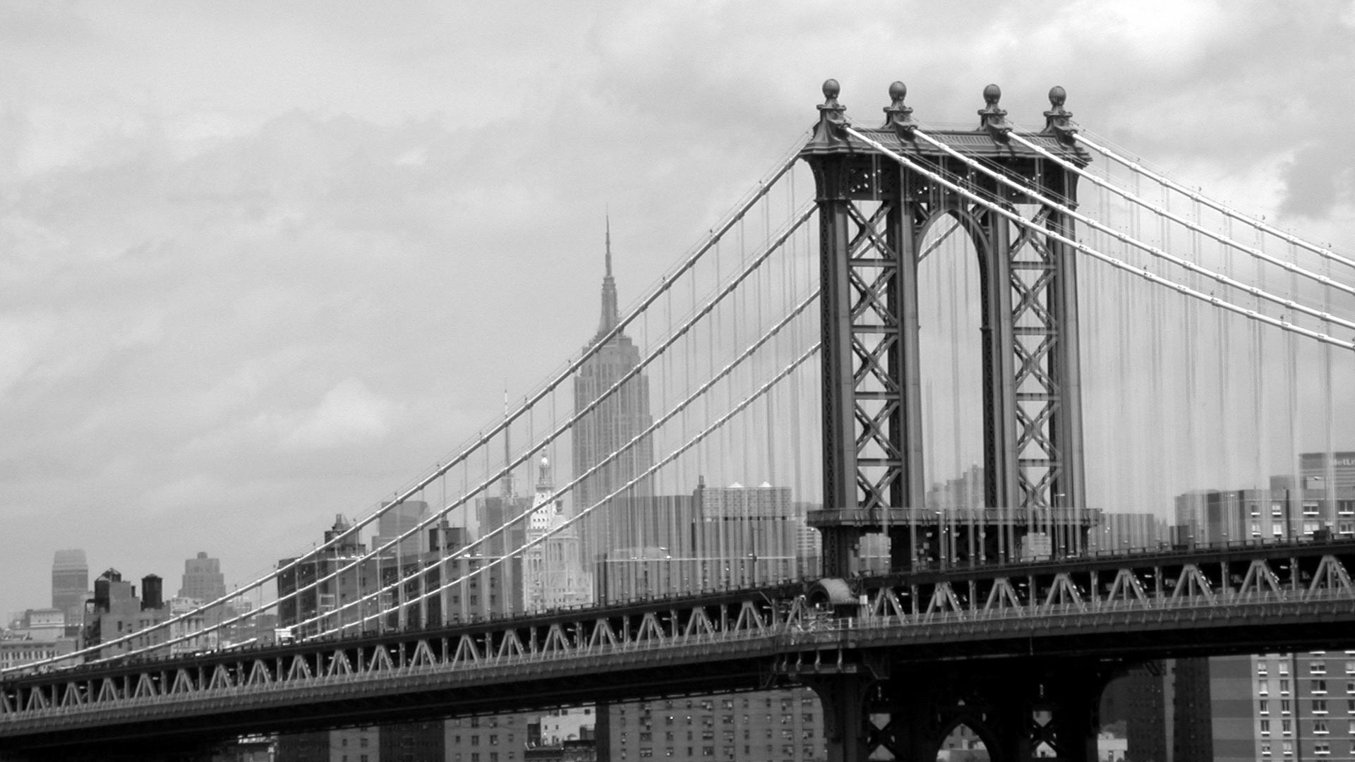 New York Bridge In Stunning HD Wallpaper