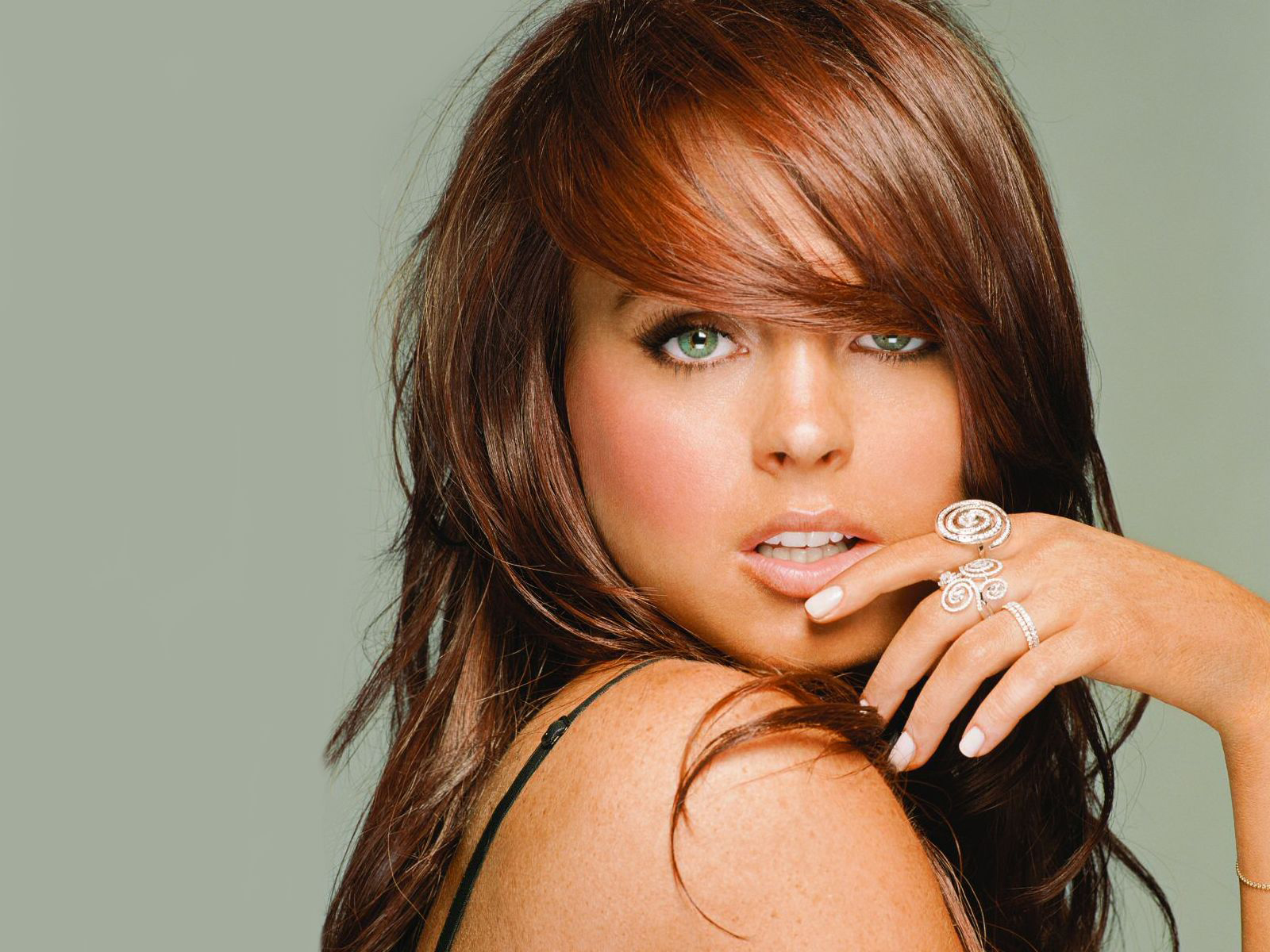 Seductive Lindsay Lohan Background