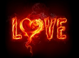 The Fiery Passion of Love