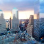 Tilt-Shift HD Photography Background