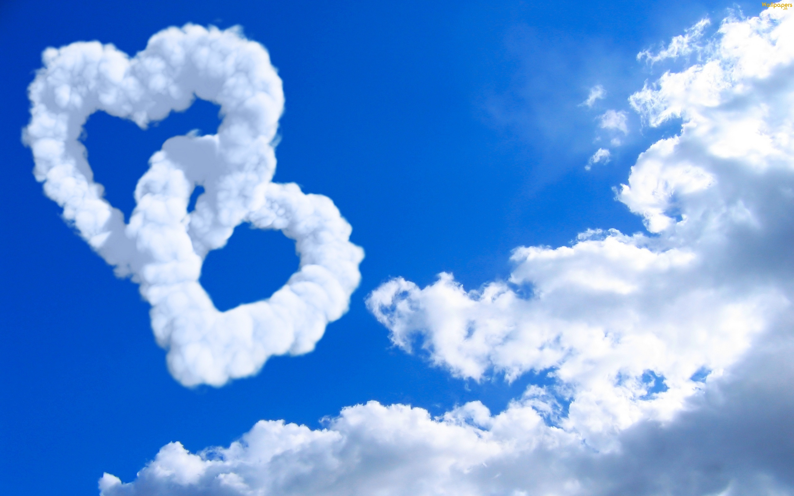 two hearts in the sky hd wallpapers