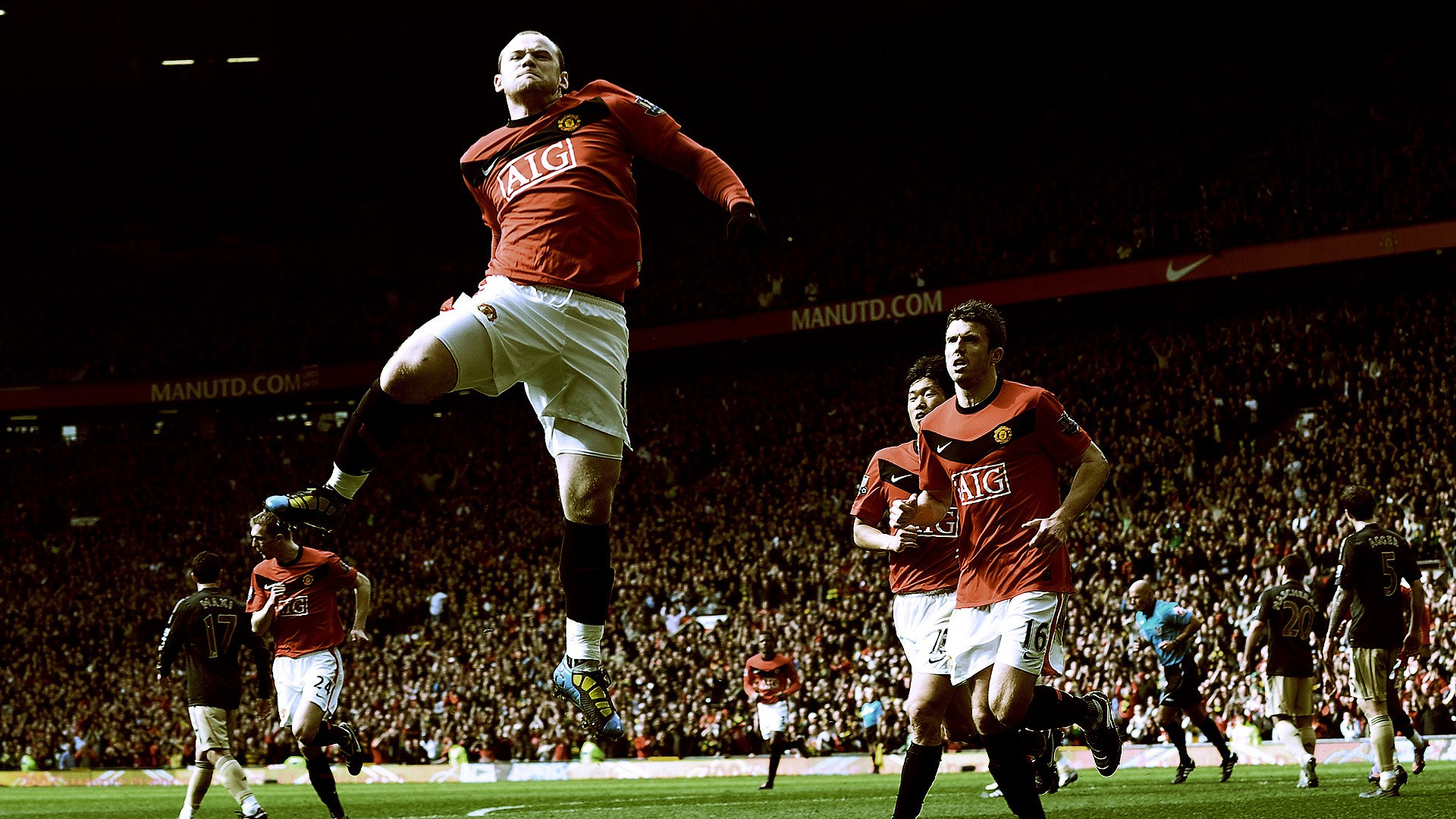 Wayne Rooney Manchester United Hd Wallpaper Hd Wallpapers