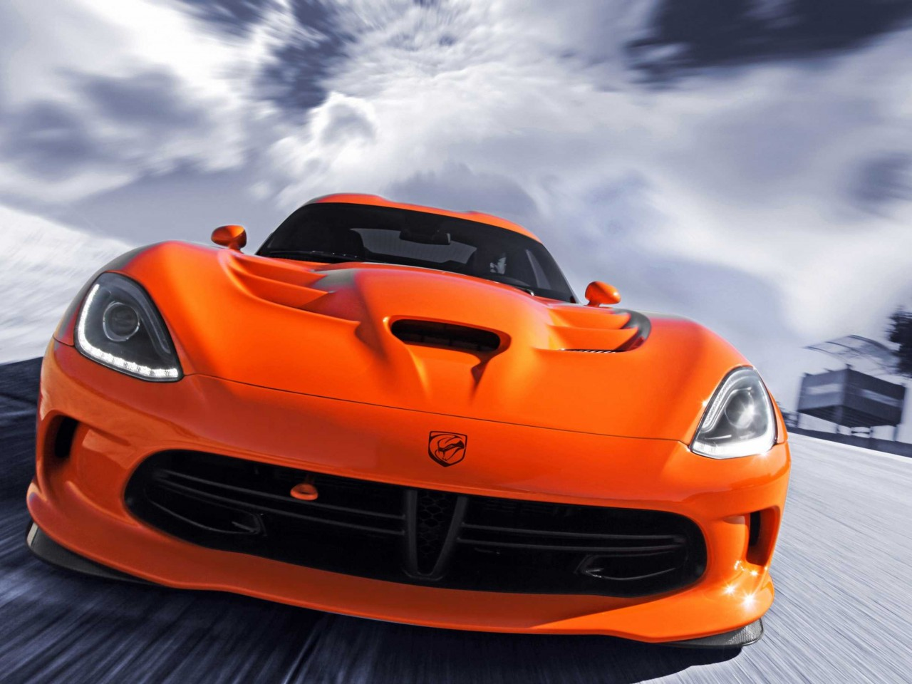 Cars Wallpapers: 2014 SRT Viper TA Car Wallpaper