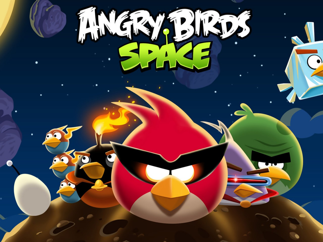 Angry Birds Space HD Wallpaper HD Wallpapers