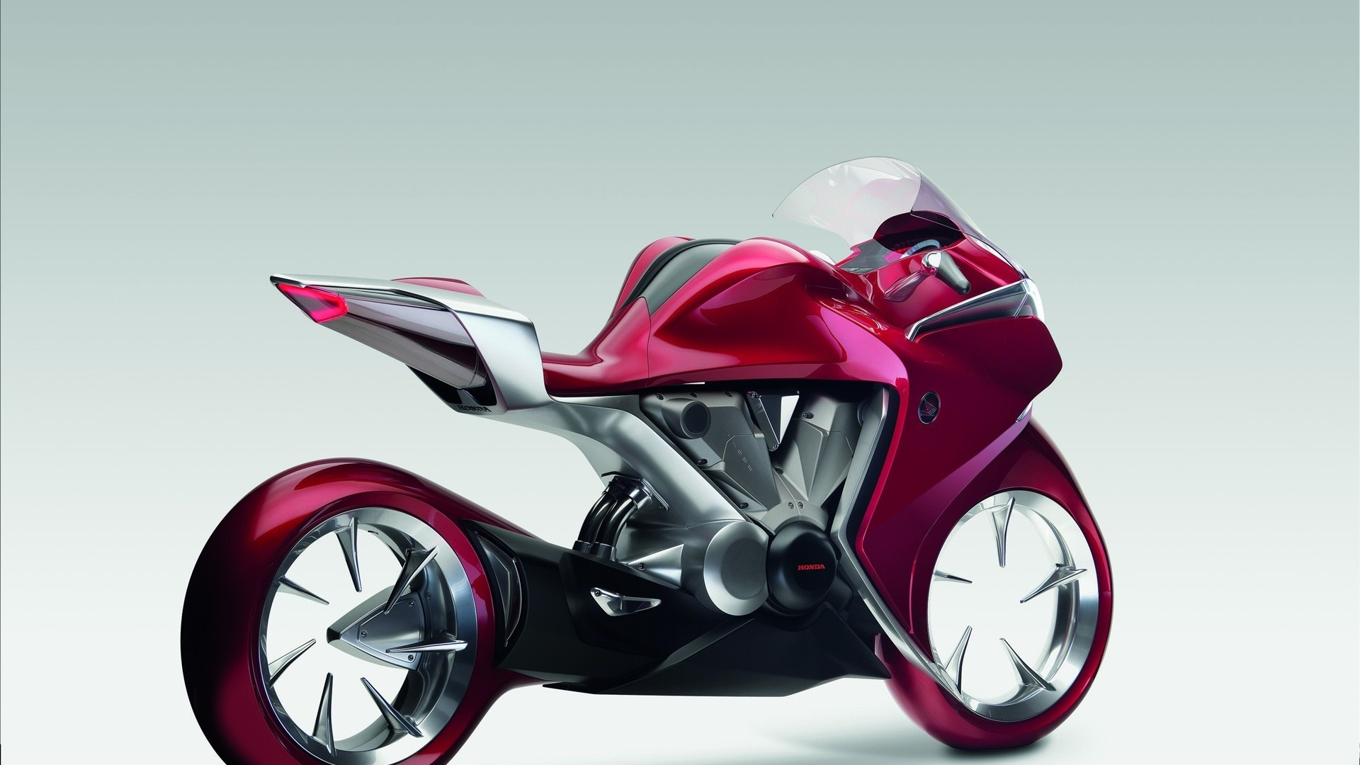 Cool HD Pink Motorcycle