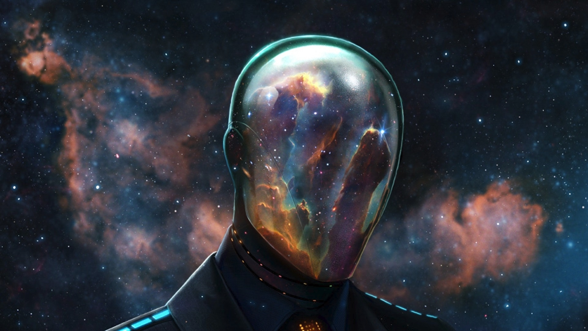 Epic Reflective Space Mask