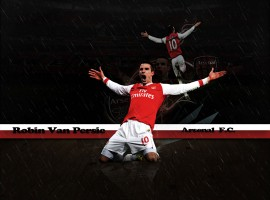 Footballs Robin Van Persie HD Wallpaper