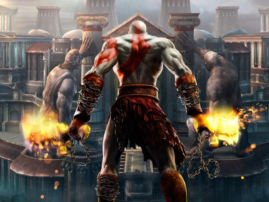 God Of War 4 HD Wallpaper