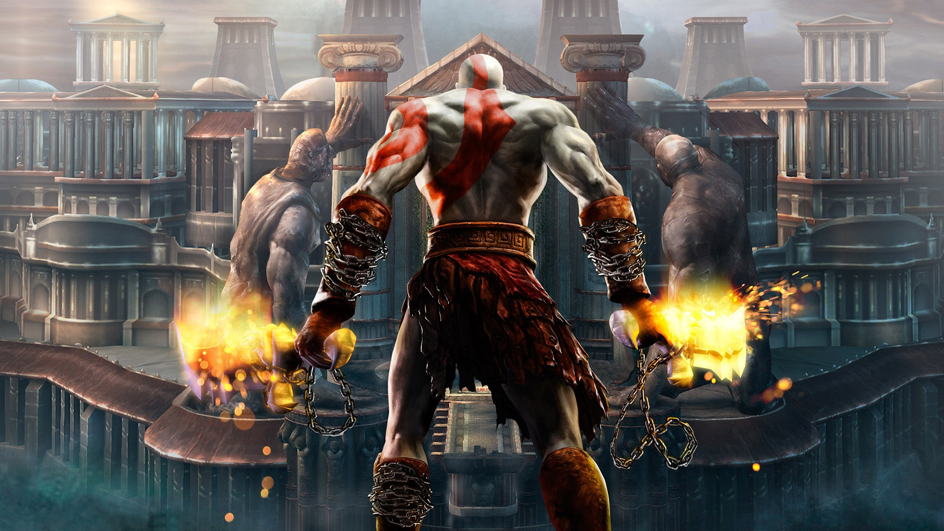 God Of War 4 Hd Wallpaper Hd Wallpapers