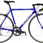 HD Blue Racing Bike