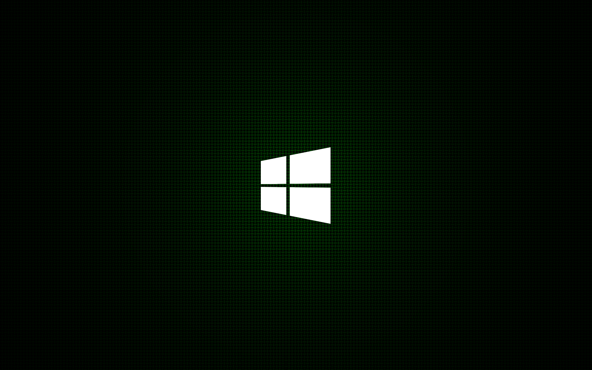 30 HD Black Wallpapers Green Minimal Windows 8 Logo