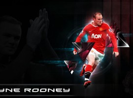 HD Legend Background of Wayne Rooney