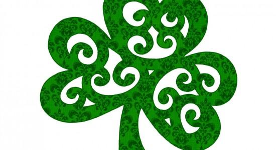 HD Luck of The Irsh Clover Wallpaper