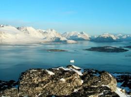 Ice Cold Lake Wallpaper