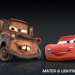 Mater & Lightning McQueen From Cars 2