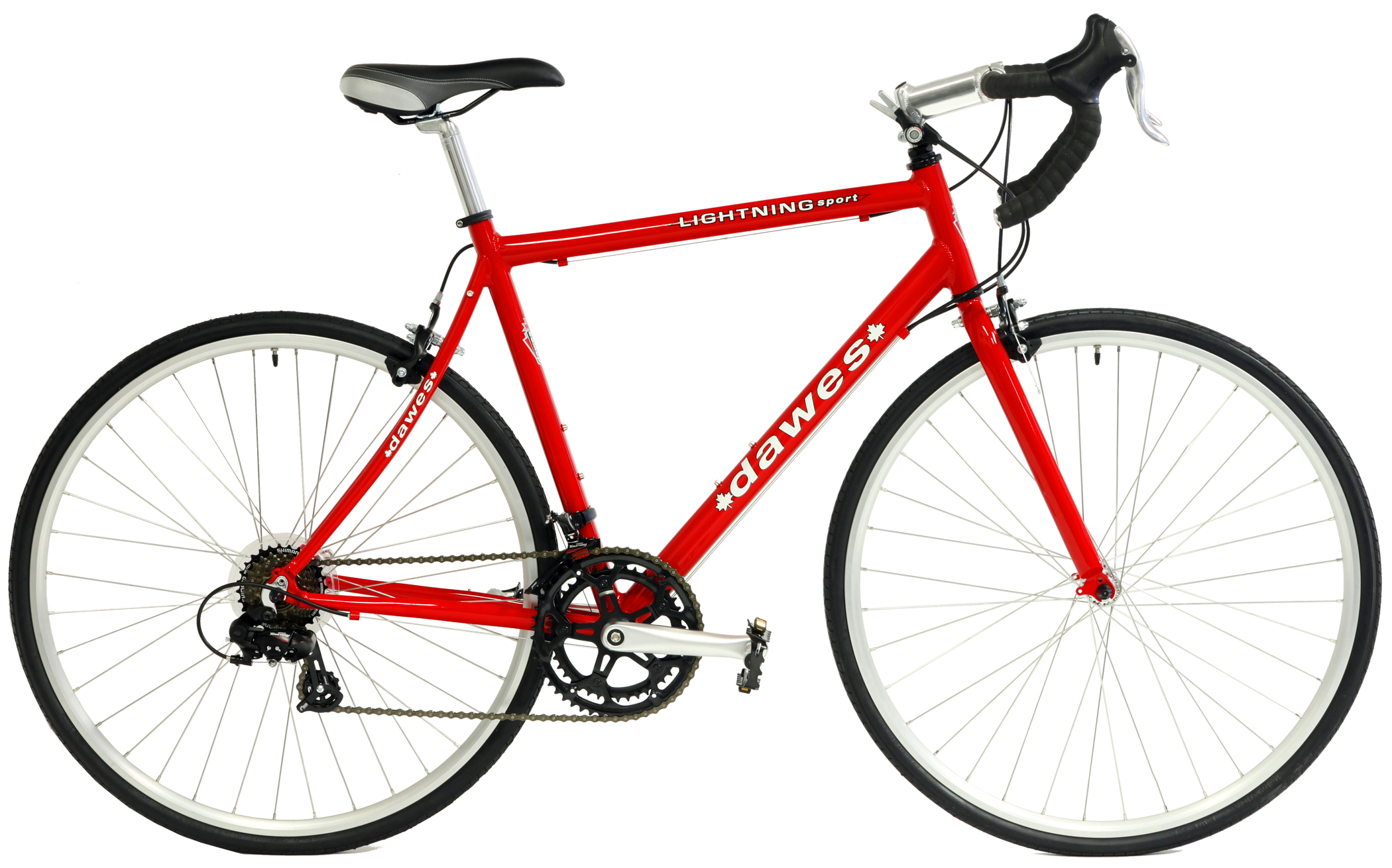 Simple HD Red Pushbike
