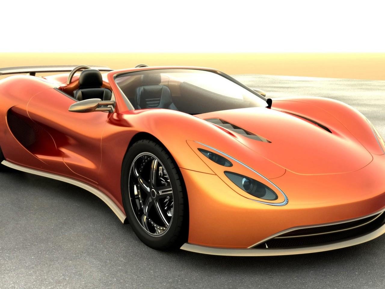 Sleek And Sexy HD Sports Car