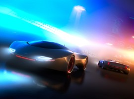 Super Modern CGI Cars Wallpaper