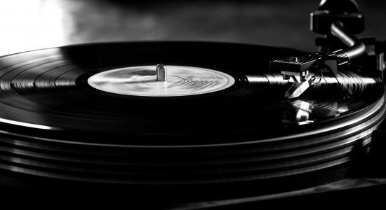 Vintage Vinyl Record Player Wallpaper
