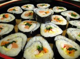 Yummy Sushi Wallpaper
