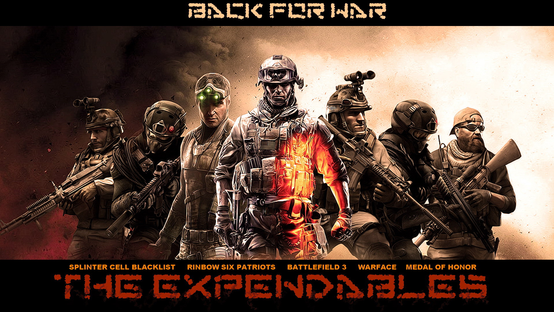 Awesome Hd Expendables Video Game Hd Wallpapers