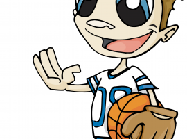 Cartoon Sports Guy