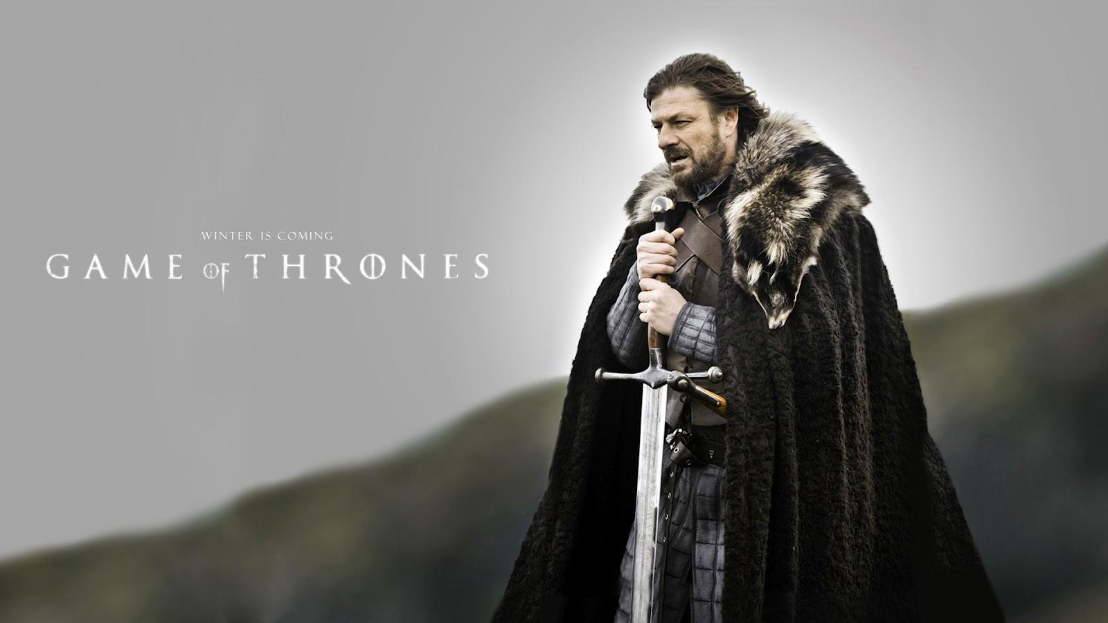 Eddard 'Ned' Stark Game of Thrones High Res Desktop Background