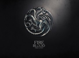 Fire and Blood Targaryen Game of Thrones Wallpaper