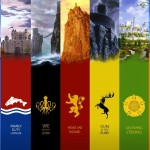 Game of Thrones Houses High Res Desktop Wallpaper