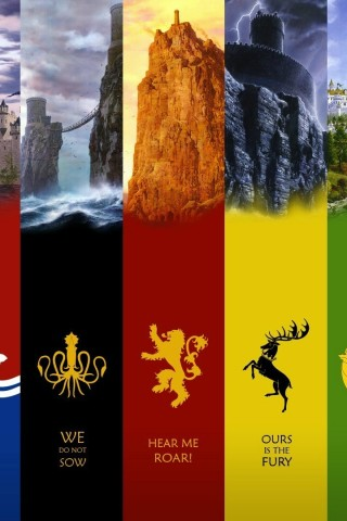Game Of Thrones Houses High Res Desktop Wallpaper Hd