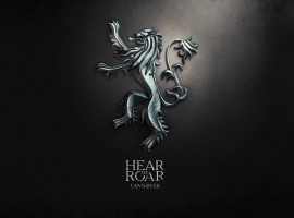 Hear Me Roar Lannister Game of Thrones Background