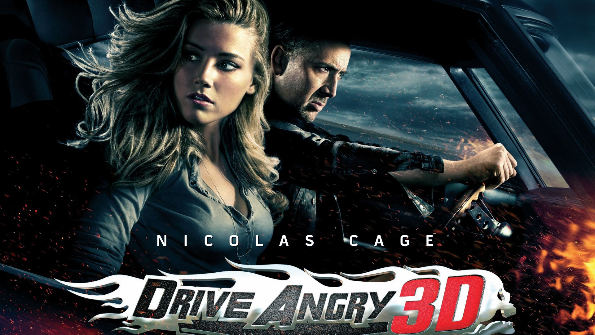 nicolas cage drive angry 3d wallpaper hd wallpapers