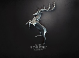 Ours is the Fury Baratheon Game of Thrones Wallpaper