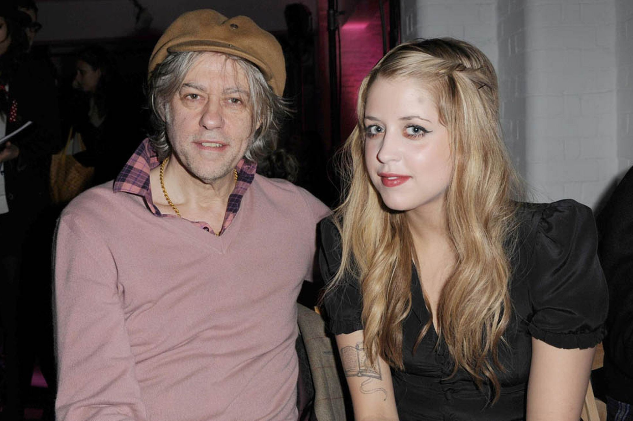 Peaches & Bob Geldof Wallpaper