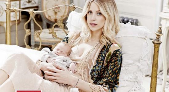 Peaches Geldof & her baby Wallpaper