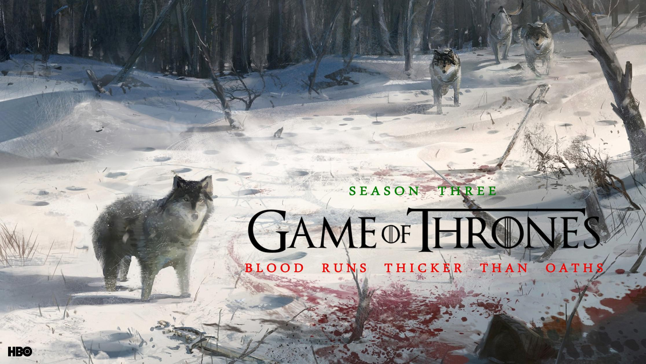 Season 3 Game of Thrones Desktop