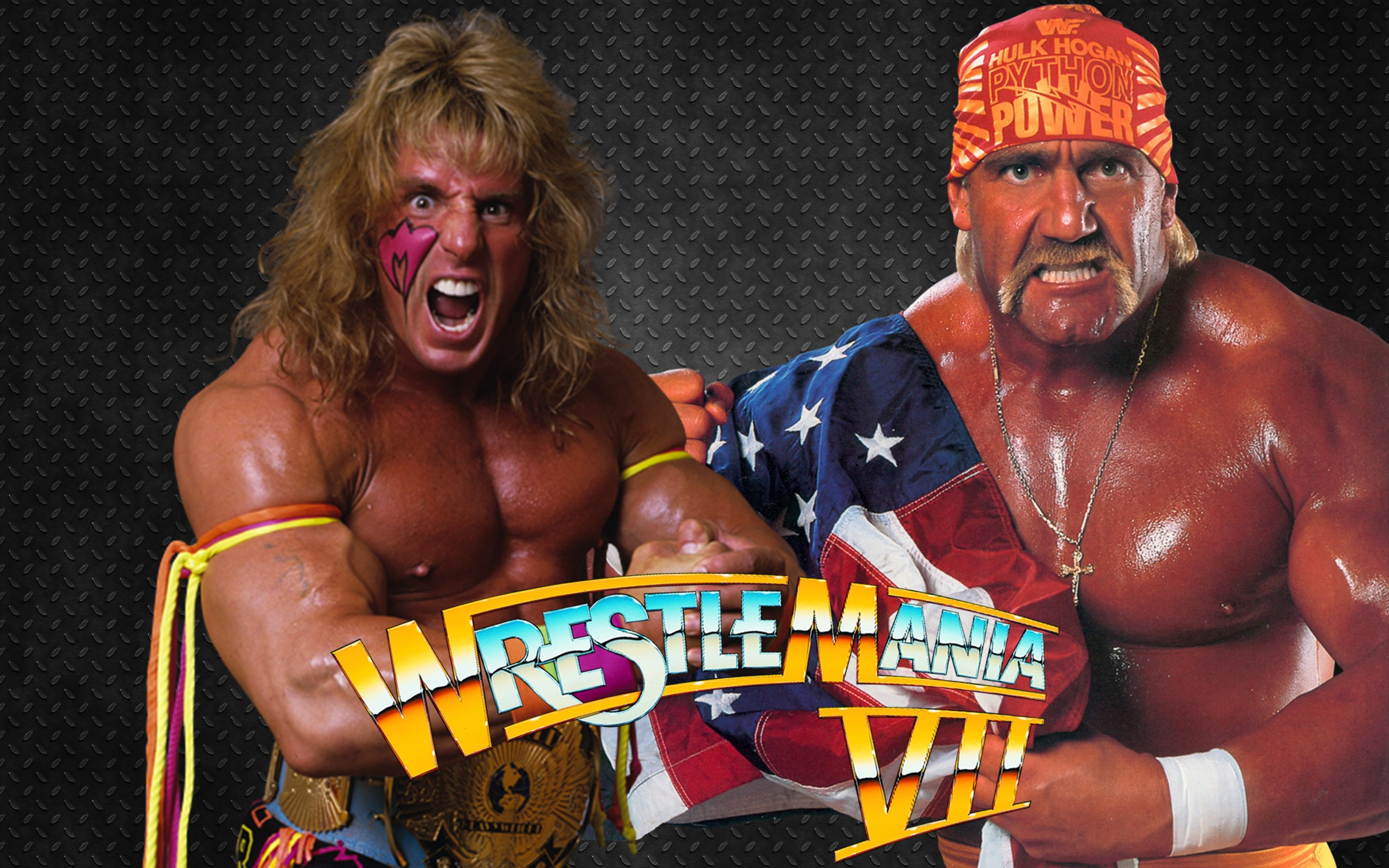 The Ultimate Warrior & Hulk Hogan WrestleMania 7