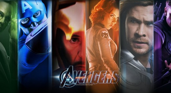Colorful Avengers HD Wallpaper