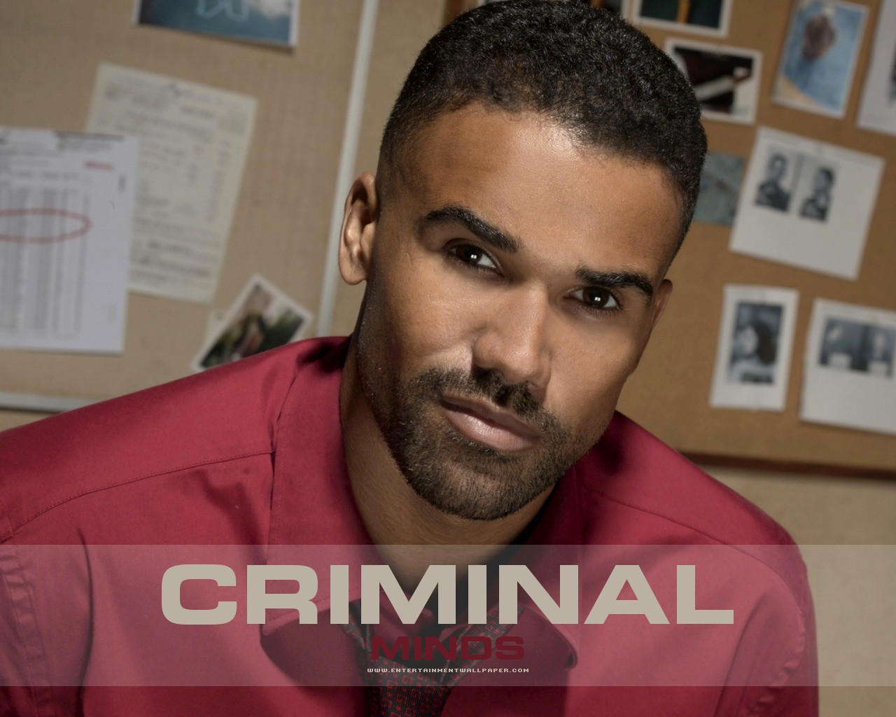 Derek Morgan Criminal Minds Desktop Background