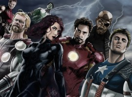 Hand Drawn Avengers Wallpaper