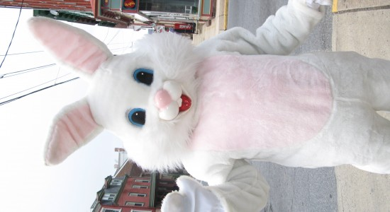 Happy Easter Bunny Wallpaper
