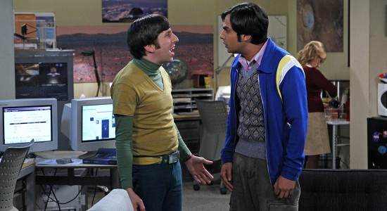 Howard & Raj The Big Bang Theory Background