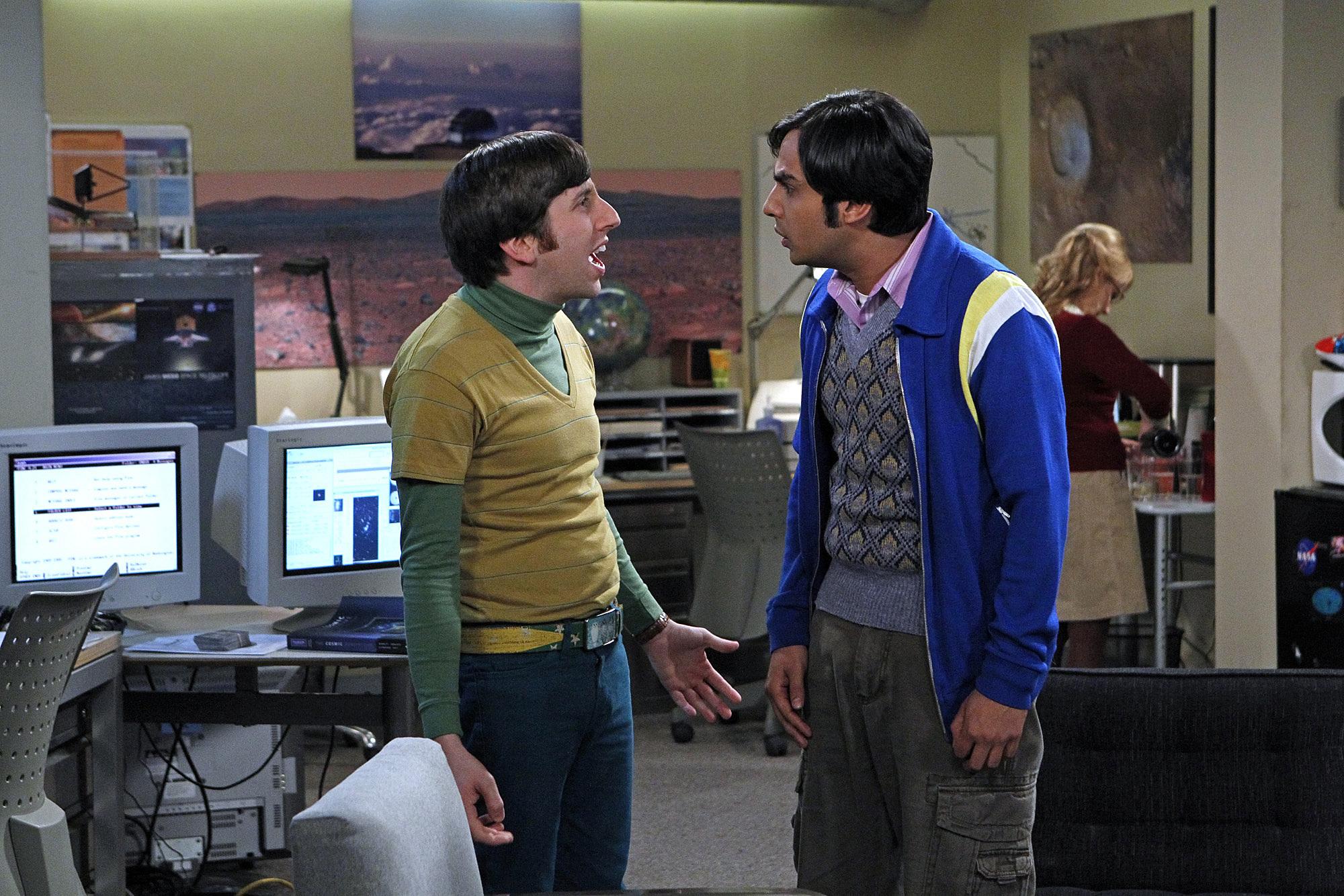 Howard & Raj The Big Bang Theory Background