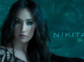 Maggie Q Nikita Wallpaper