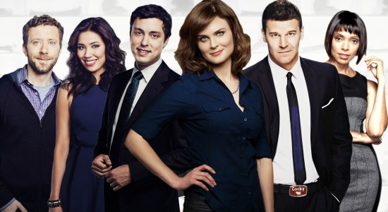 Main Cast of Bones Desktop Wallpaper