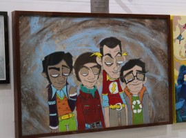 Painting of The Big Bang Theory