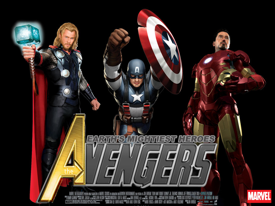 The Avengers Desktop Background